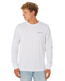 WHITE MENS CLOTHING ADELIO TEES - CWLSTWHI