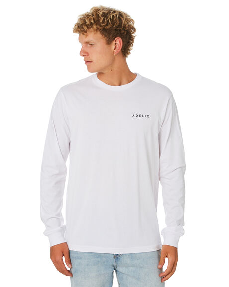 WHITE MENS CLOTHING ADELIO TEES - CWLSTWHI