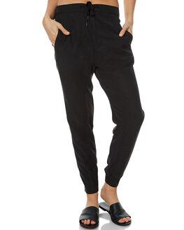BLACK WOMENS CLOTHING RUSTY PANTS - PAL1000BLK