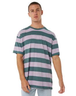 DARK TEAL MENS CLOTHING STUSSY TEES - ST085104DTEAL