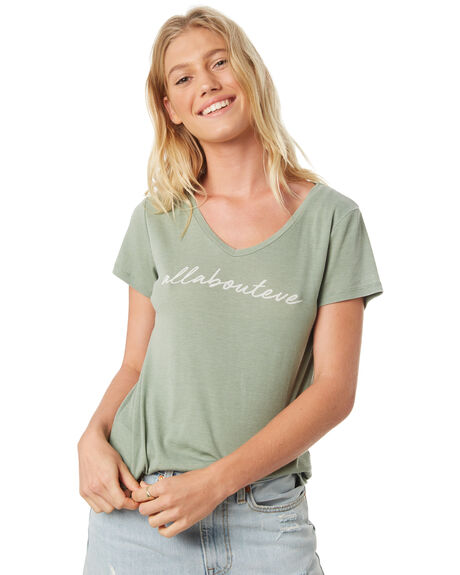 MINT OUTLET WOMENS ALL ABOUT EVE TEES - 6424080MINT