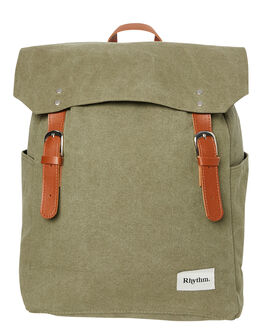 OLIVE MENS ACCESSORIES RHYTHM BAGS + BACKPACKS - ACC00M-BP01-OLI