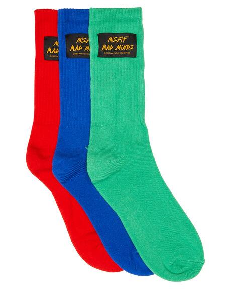 ASSORTED MENS CLOTHING MISFIT SOCKS + UNDERWEAR - MT705012ASS