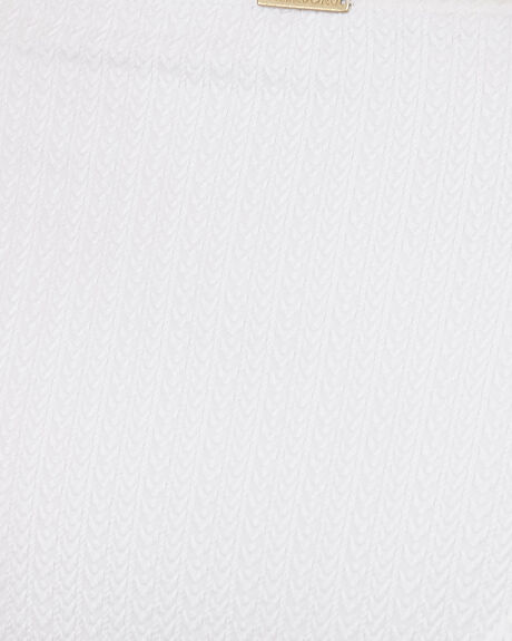 WHITE WOMENS SWIMWEAR BILLABONG BIKINI TOPS - BB-6507687M-WHT