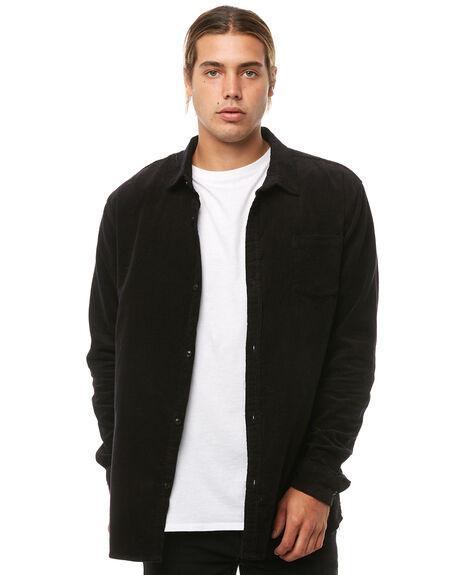 BLACK MENS CLOTHING SWELL SHIRTS - S5164669BLACK