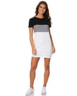 BLOCK STRIPE WOMENS CLOTHING SWELL DRESSES - S8174441BSTR
