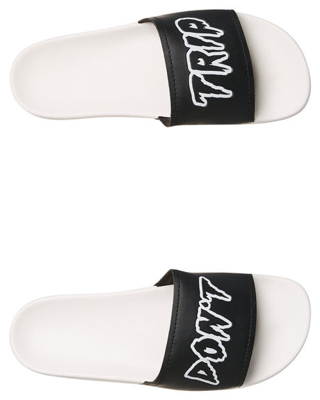 WHITE COMBO OUTLET MENS VOLCOM SLIDES - V08118S9WTC