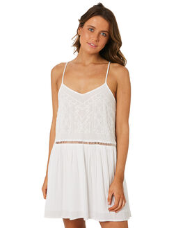 WHITE WOMENS CLOTHING RIP CURL DRESSES - GDRGN11000