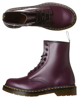 PURPLE WOMENS FOOTWEAR DR. MARTENS BOOTS - SS11821500PURW