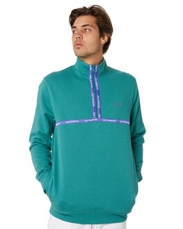 DEEP JUNGLE MENS CLOTHING HUF JUMPERS - FL00077-DPJNG