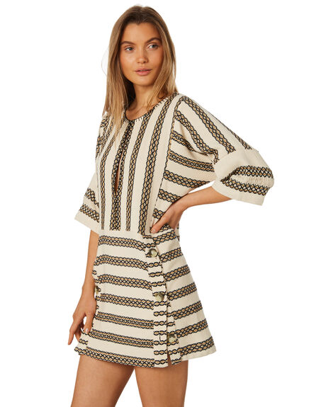 STRIPE WOMENS CLOTHING TIGERLILY DRESSES - T395422STR