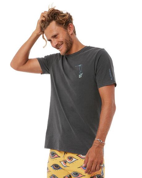 BLACK MENS CLOTHING VOLCOM TEES - A5211804BLK