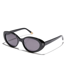 BLACK GLOSS GREY WOMENS ACCESSORIES SABRE SUNGLASSES - SS7-513B-GBLKGR