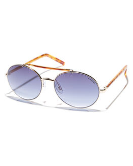 GOLD WOMENS ACCESSORIES LIIVE VISION SUNGLASSES - L0592AGLD