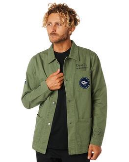 CLOVER MENS CLOTHING DEUS EX MACHINA JACKETS - DMP95757CLVR
