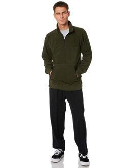 OLIVE MENS CLOTHING SPITFIRE JUMPERS - 54010097OLIVE