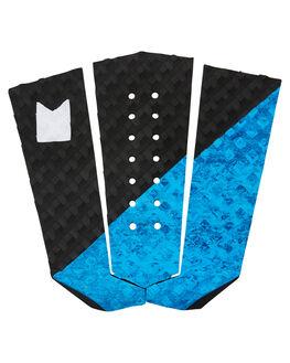BLACK BLUE SWIRL BOARDSPORTS SURF MODOM TAILPADS - 2019TRNBBBBLKBL