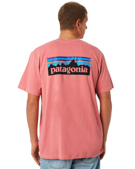 STICKER PINK MENS CLOTHING PATAGONIA TEES - 39174SRPK
