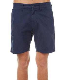 BLUE MENS CLOTHING CARHARTT SHORTS - I021730-01-GDBLU