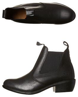 BLACK WOMENS FOOTWEAR ROC BOOTS BOOTS - TUCSONBLK