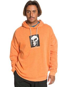 VIBRANT ORANGE MENS CLOTHING QUIKSILVER JUMPERS - EQYFT04145-NLH0