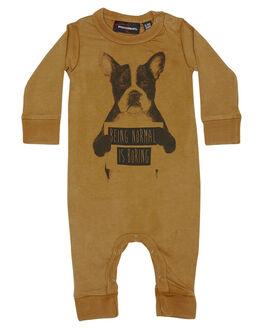 KHAKI KIDS BABY ROCK YOUR BABY CLOTHING - BBB1816-NIKHAK