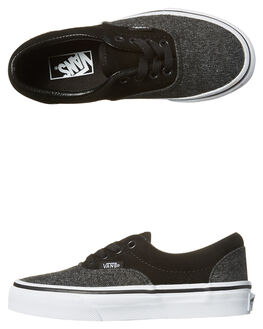 BLACK KIDS BOYS VANS SNEAKERS - VN-A38H8OSNBLK