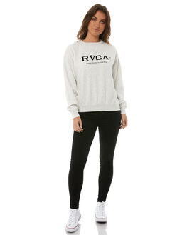 SILVER MARLE WOMENS CLOTHING RVCA JUMPERS - R283161SILV