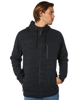 BLACK MENS CLOTHING VOLCOM JACKETS - A5811901BLK