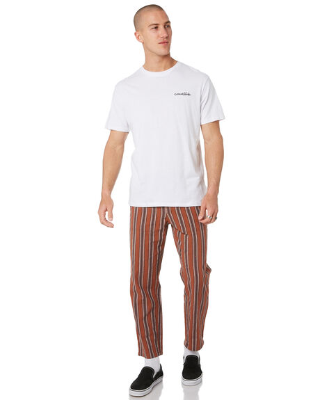 RUST OUTLET MENS THE CRITICAL SLIDE SOCIETY PANTS - PT1826RUST