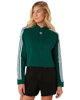 COLLEGIATE GREEN WOMENS CLOTHING ADIDAS JUMPERS - DX2159GRN
