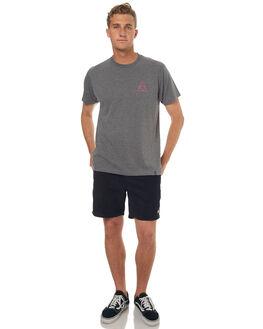 ARCTIC GREY MENS CLOTHING HUF TEES - TS00220AGRY