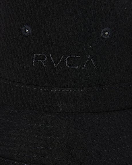 BLACK MENS ACCESSORIES RVCA HEADWEAR - R305570ABLK