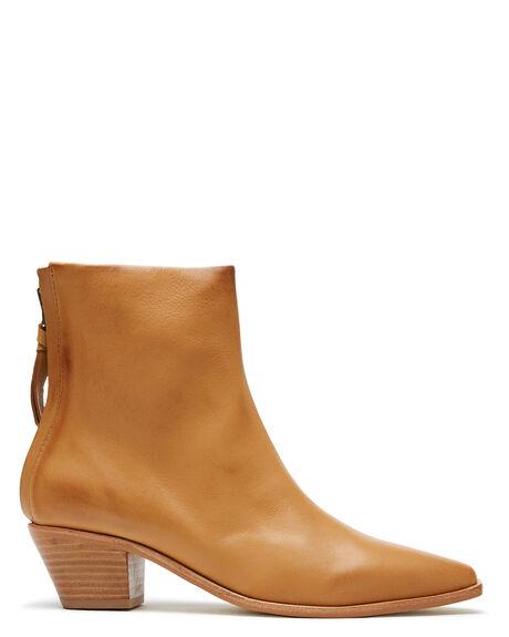 CARAMEL WOMENS FOOTWEAR SOL SANA BOOTS - SS202W419CRML