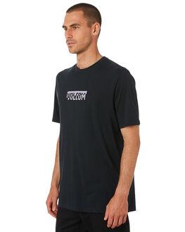 BLACK MENS CLOTHING VOLCOM TEES - A5001943BLK