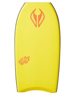 YELLOW BOARDSPORTS SURF NMD BODYBOARDS BOARDS - N19NJOY38YEYELWH