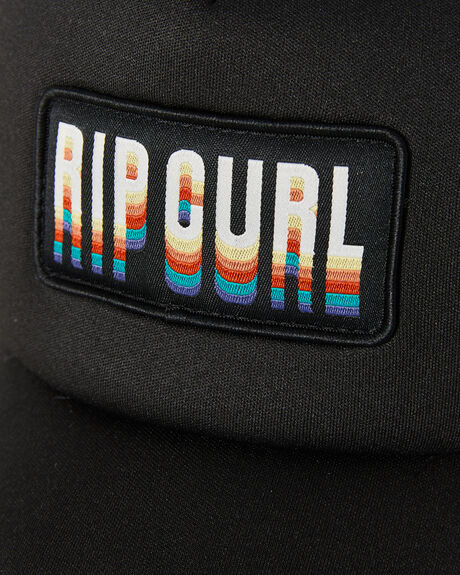 BLACK WOMENS ACCESSORIES RIP CURL HEADWEAR - GCAIJ10090