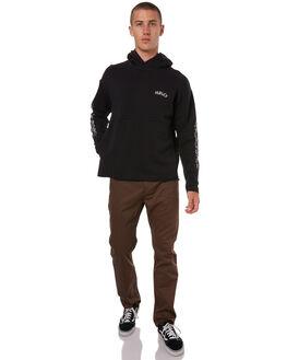 BLACK MENS CLOTHING HURLEY JUMPERS - 925231010