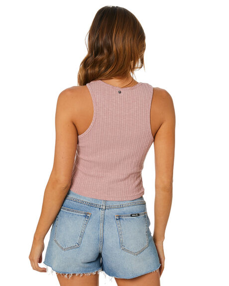 MISTY ROSE WOMENS CLOTHING RUSTY SINGLETS - FSL0574MYE