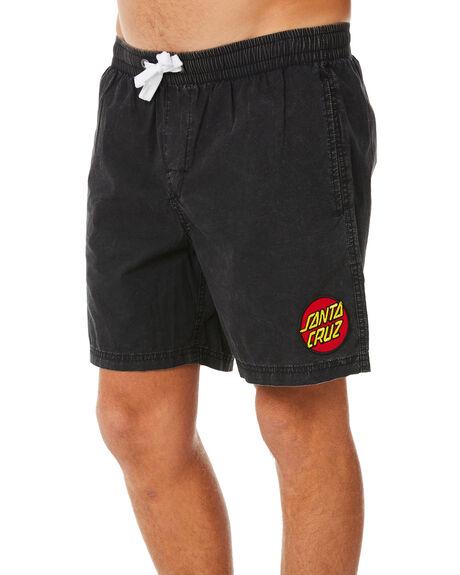 ACID BLACK MENS CLOTHING SANTA CRUZ BOARDSHORTS - SC-MBNC263ACBLK