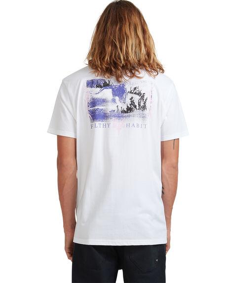 WHITE MENS CLOTHING BILLABONG TEES - 9513037-WHT