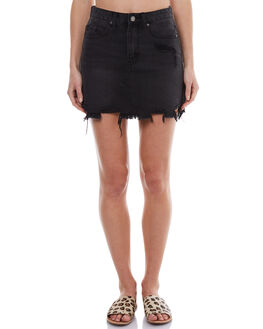 BLACK WOMENS CLOTHING THE HIDDEN WAY SKIRTS - H8174471BLK