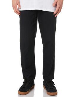 BLACK MENS CLOTHING HURLEY PANTS - CI1582010