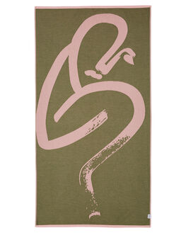 OLIVE WOMENS ACCESSORIES MAYDE TOWELS - 19BILOLIOLI