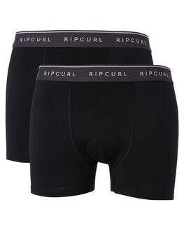 BLACK MENS CLOTHING RIP CURL SOCKS + UNDERWEAR - CUWAS10090
