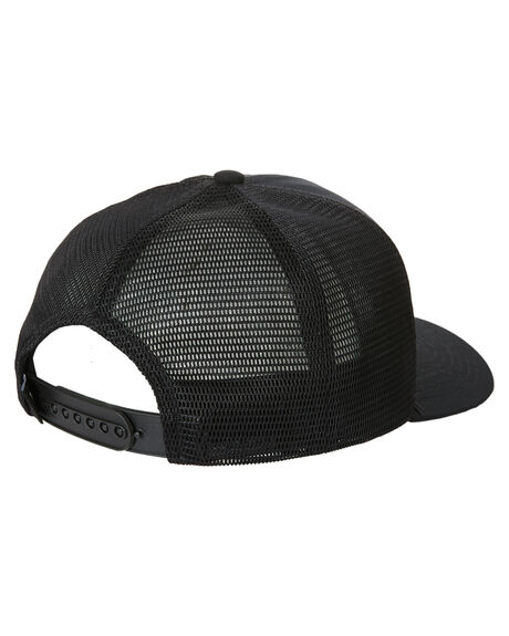 BLACK MENS ACCESSORIES HURLEY HEADWEAR - CW5706010