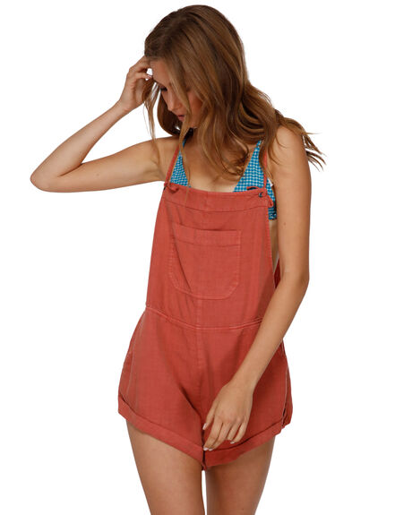 GINGER WOMENS CLOTHING BILLABONG PLAYSUITS + OVERALLS - BB-6572501-GIN