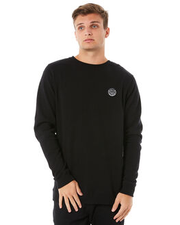 BLACK MENS CLOTHING RIP CURL JUMPERS - CFEMD10090
