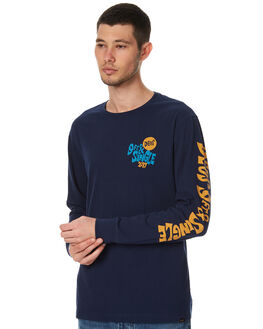 NAVY MENS CLOTHING DEUS EX MACHINA TEES - DMP71184BNVY