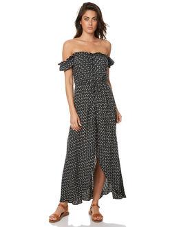 BLACK WOMENS CLOTHING AUGUSTE DRESSES - AMG1-17660BLK